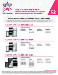 Frigidaire - The Blowout Sale Get Up To $250 Back