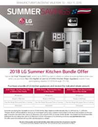 LG - Summer Savings Offer (up to $400 value)