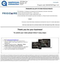 Frigidaire - Kitchen Package Rebate (up to $250 value)