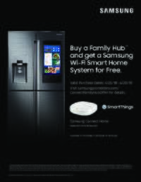 Samsung - Family Hub Offer