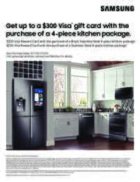 Samsung - 4-piece Kitchen Package Rebate (up to $300 value)
