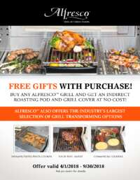 Alfresco - Free Gifts with Purchase (up to $458 value)