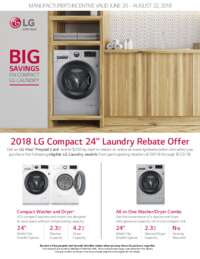 LG - Big Savings On Compact LG Laundry (up to $400 value)