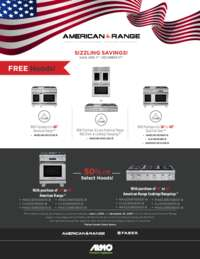 American Range - FREE or 50% Select Hood Offer (up to $1699 value)