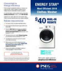 PSEG Long Island - Energy Star Washer Rebate ($40 value)