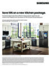 Samsung - Save 10% on a new 4-piece Kitchen package