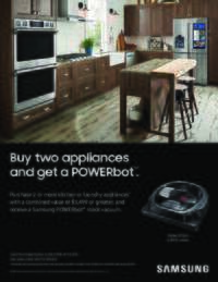 Samsung - Free POWERbot Robot Vacuum Promo (a $499 value)