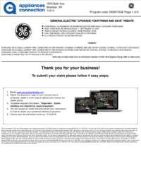 GE - August Rebate