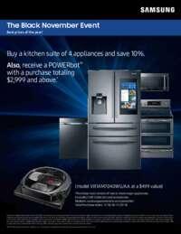 Samsung - Receive 10% off on Kitchen Suite