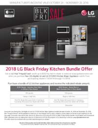 LG - Black Friday Kitchen Bundle Offer (up to $350 value)