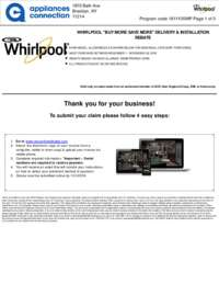 Whirlpool - November Rebate Up to $450 Off