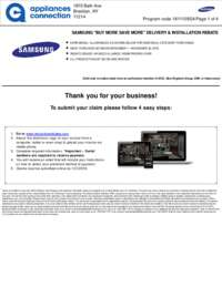Samsung - November Rebate with Bonus Up To $475
