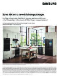 Samsung - 10% OFF on a new 4-piece Kitchen package
