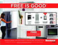 Blomberg - Free Is Good Offer (up to $599 value)