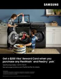 Samsung - Flex Perfect Pair Rebate ($200 value)