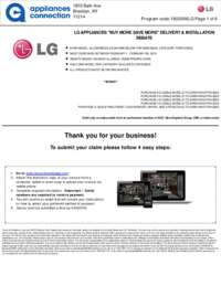 LG - February Rebate Up To $1000 Off
