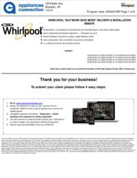 Whirlpool - February Rebate Up to $700 Off