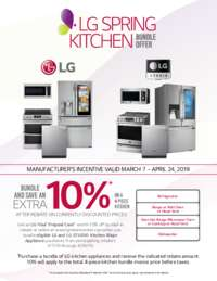 LG - Spring Kitchen Bundle Offer