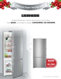 Liebherr - Platinum Super Savings ($200 value)