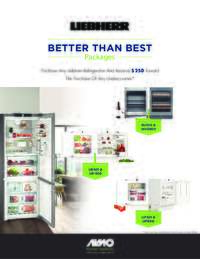 Liebherr - Better Than Best Packages ($250 value)