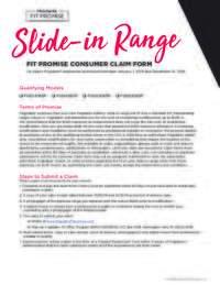 Frigidaire - Slide-In-Range Fit Promise Offer ($100 value)