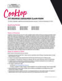 Frigidaire - Cooktop Fit Promise Offer ($100 value)