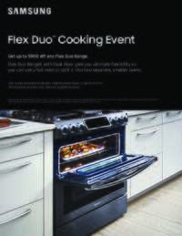 Samsung - Flex Duo Cooking Event