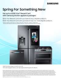 Samsung - Spring For Something New Promo (up to $300 value)