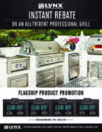 Lynx - All-Trident Professional Grill Instant Rebate (up to $500 value)