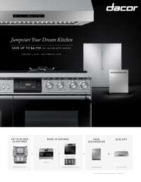 Dacor - JumpStart Your Dream Kitchen (up to $4799 value)