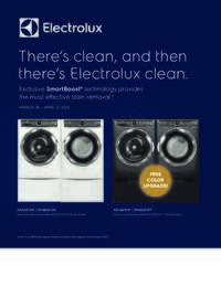 Electrolux - Free Color Upgrade Offer