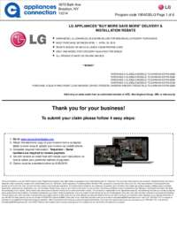 LG - April Rebate Up to $1000 Off