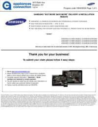 Samsung - April Rebate with Bonus Up To $650