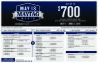 Maytag - May is Maytag Month (up to $700 value)