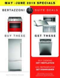 Bertazzoni - Suite Deals Promotion (up to 2 FREE appliances)