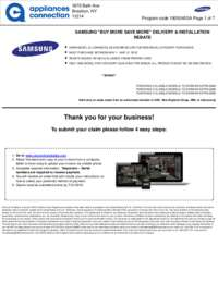 Samsung - May Rebate with Bonus Up To $750