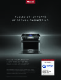 Miele - Complimentary 5-Year Warranty