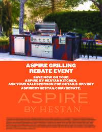 Hestan Aspire - Summer Grilling Event (up to $1249 value)