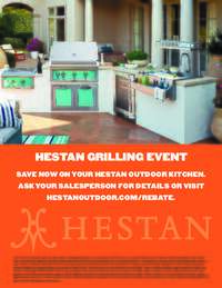 Hestan - Summer Grilling Event (up to $750 value)