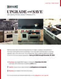 Wolf - Upgrade and Save Program (up to $900 value)