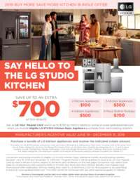 LG Studio - Buy More Save More Kitchen Bundle (up to $700 value)