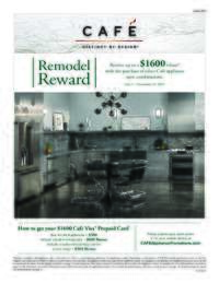 Cafe - Remodel Reward (up to $1600 value)