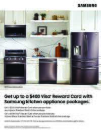 Samsung - Summer Kitchen Package Promo (up to $400 value)
