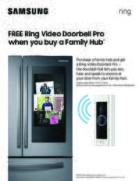 Samsung - Free Ring Video Doorbell Pro (up to $249 value)
