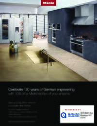 Miele - 10% off Kitchen Package Rebate