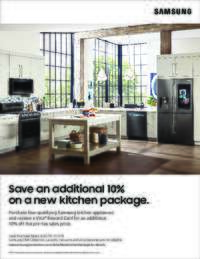 Samsung - 10% OFF on a new kitchen package