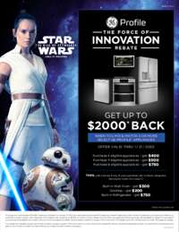 GE Profile - The Force Of Innovation (up to $2000 value)