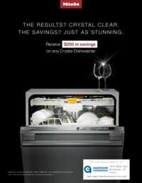 Miele - Crystal Dishwashers Promo ($200 value)