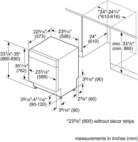Bosch Shx3ar75uc 100 Series 24