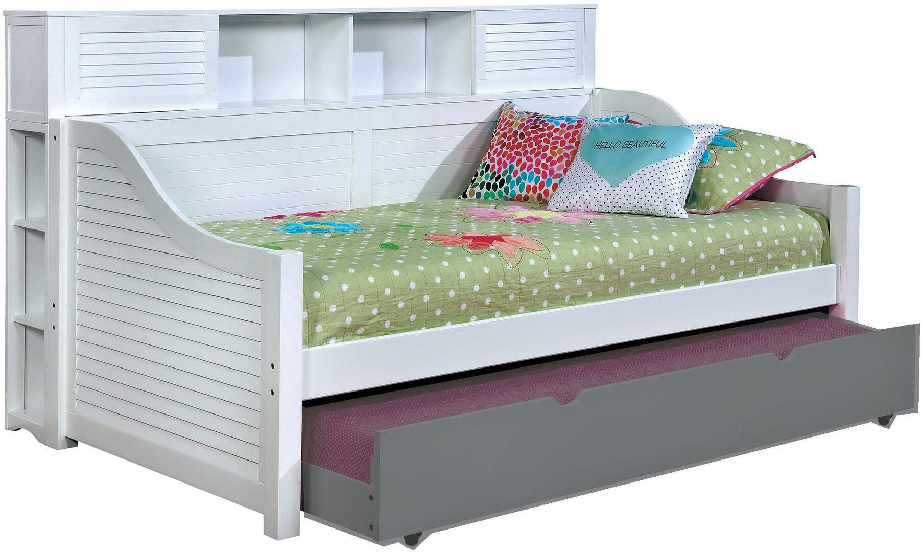 Furniture Of America Cm1951whbedbc